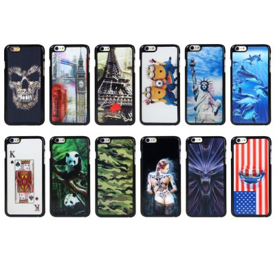 3D PC Back Cover Case for iPhone 6 Plus 5.5 inch