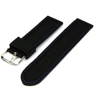 2.4cm Rubber Watch Band StrapWatch Accessories<br>2.4cm Rubber Watch Band Strap<br><br>Type: Normal watch band<br>Material: Rubber<br>Color: White, Red, Blue, Orange<br>Product weight: 0.023 kg<br>Package weight: 0.053 kg<br>Product size (L x W x H) : 22 x 2.4 x 0.2 cm / 8.66 x 0.94 x 0.08 inches<br>Package size (L x W x H): 13.5 x 5 x 2 cm<br>Package Contents: 1 x Watch Band