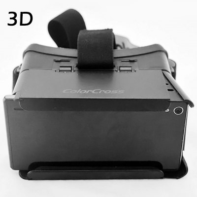 ColorCross Google Virtual Reality 3D Video Glasses with Elastic Band for 4   6 inch Smartphones