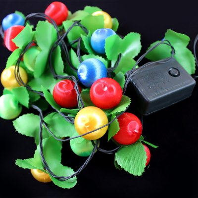 3.5 Meters LED Lights String for Christmas Tree Ornaments Holiday Supplies