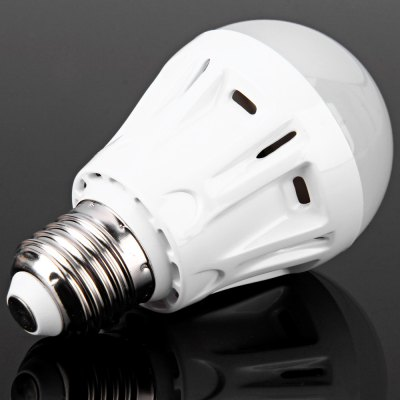 High Brightness E27 450LM 5W LED Milky Covered Bulb Light Lamp (3000 - 3500K)