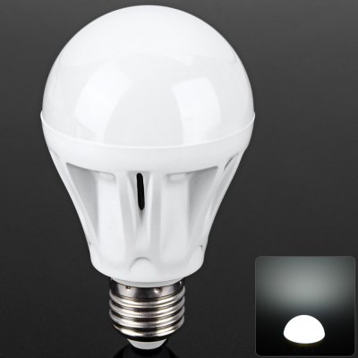E27 7W  630Lm White Light Ball Bulb