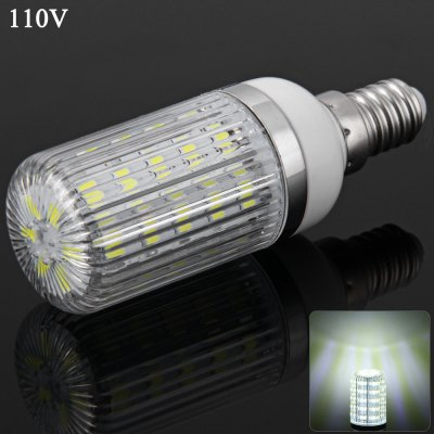 E14 7W 36 SMD-5730 110V Dimmable White Light Corn Light