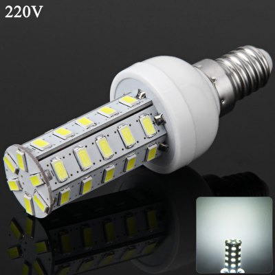 E14 7W 36 SMD-5730 220V Dimmable White Light Corn Light