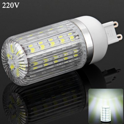 G9 7W 36 SMD-5730 220V Dimmable White Light Corn Light