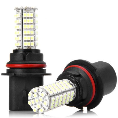 Sencart HB5 PX29T 9007 Car Light 7W SMD - 3528 102 LEDs Fog Lamp (6000 - 6500K 2 PCS)LED Light Bulbs<br>Sencart HB5 PX29T 9007 Car Light 7W SMD - 3528 102 LEDs Fog Lamp (6000 - 6500K 2 PCS)<br><br>Type: Car Light<br>Car light type: Fog Light, Daytime Running Light, Decorative Lamp<br>Connector: 9007<br>LED: 102 x SMD-3528 LED<br>Available Light Color: Cold White<br>Wattage (W): 7<br>Voltage (V): AC 12V<br>Features: Low Power Consumption, Easy to use<br>Product weight: 38 g (1 pc)<br>Package weight: 0.1 kg<br>Product size (L x W x H): 8.6 x 3.8 x 3.8 cm / 3.39 x 1.50 x 1.50 inches (1 pc)<br>Package size (L x W x H): 10 x 7 x 7 cm<br>Package Contents: 2 x Sencart 9007 HB5 PX29T 7W 102 SMD-3528 LEDs White Light Car Light