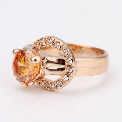 Chic Style Environmental Alloy Rhinestone Ring For Women от GearBest.com INT