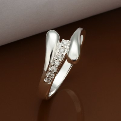 Adjustable Finger Abstract Design Ring