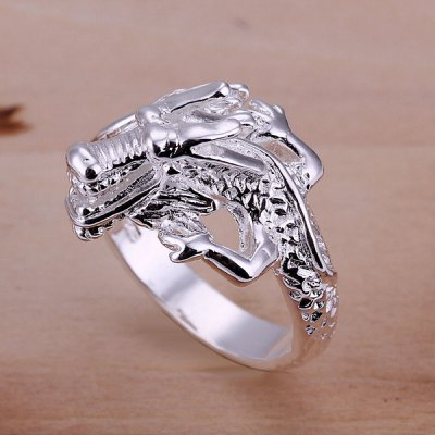 Cool Design Dragon Head Shape Opening Ring