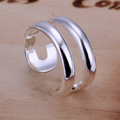 Double Lines Openings Ring