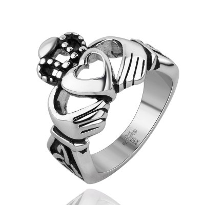 ФОТО Fashionable Heart Pattern Design Neutral Ring