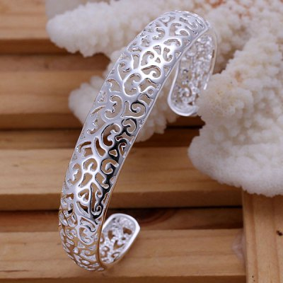 Charming Openwork Pattern Bracelet For Women