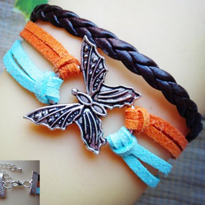 Trendy Women's Eagle Shape Multi-Layered Friendship Bracelet