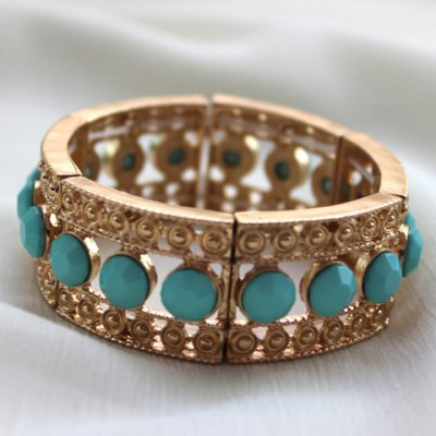 Chic Womens Beads Openwork Design BraceletBracelets &amp; Bangles<br>Chic Womens Beads Openwork Design Bracelet<br><br>Item Type: Charm Bracelet<br>Gender: For Women<br>Chain Type: Link Chain<br>Style: Trendy<br>Shape/Pattern: Others<br>Weight: 0.100KG<br>Package Contents: 1 x Bracelet