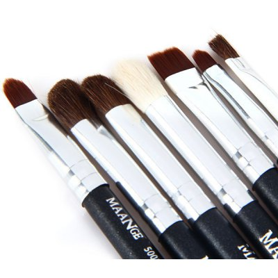 7Pcs Cosmetics Foundation Makeup Brush Set  -  5001 Series