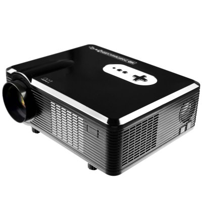 Excelvan CL720 LED Projector with Analog TV InterfaceProjectors<br>Excelvan CL720 LED Projector with Analog TV Interface<br><br>Brand: EXCELVAN<br>Model: CL720<br>Material: Glass,Plastic<br>Display type: LCD<br>Native Resolution: 1280 x 800<br>Resolution Support: 1080P<br>Brightness: 3000 Lumens<br>Contrast Ratio: 2000:1<br>Image Size: 72 - 200 inch<br>Image Scale: 1719,1720<br>Lamp Power: 150W<br>Lamp: LED<br>Interface: AV,TV<br>Power Supply: 90-240V/50-60Hz<br>Other Features: Built-in Speaker (5W x 2)<br>Color: Black,White<br>Product weight: 3.300 kg<br>Package weight: 3.440 kg<br>Product size (L x W x H): 32.00 x 25.50 x 11.50 cm / 12.6 x 10.04 x 4.53 inches<br>Package size (L x W x H): 38.50 x 18.20 x 33.80 cm / 15.16 x 7.17 x 13.31 inches<br>Package Contents: 1 x Projector, 1 x Remote Controller, 1 x Adapter, 1 x AV Cable, 1 x VGA Cable, 1 x Fuse, 1 x Lens Cloth, 1 x User Manual