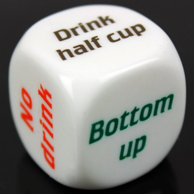 1pcs Funny Party Drink Decider Dice Games Pub Bar Fun Die Toy Gift