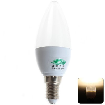 Zweihnder E14 3W 10 SMD-2835 Warm White Candle Light