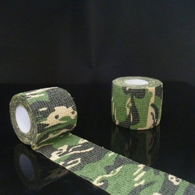 1PC Outdoor Wrap Rifle Props 4.5m Camouflage Stealth Tape Soldier Military NecessaryOther Camping Gadgets<br>1PC Outdoor Wrap Rifle Props 4.5m Camouflage Stealth Tape Soldier Military Necessary<br><br>Color: Camouflage<br>Package Contents: 1 x Camouflage Adhesive Tape<br>Package Size(L x W x H): 7.00 x 7.00 x 6.00 cm / 2.76 x 2.76 x 2.36 inches<br>Package weight: 0.0600 kg<br>Product Size  ( L x W x H ): 5.00 x 5.00 x 4.80 cm / 1.97 x 1.97 x 1.89 inches<br>Product weight: 0.0160 kg