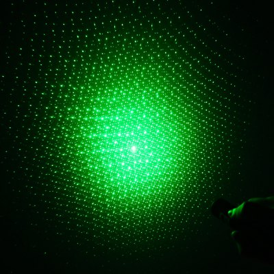 303 532nm 5mw Zoomable Laser Pointer Green Starry Light