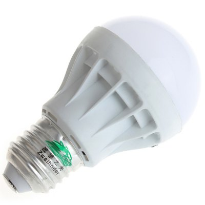 Zweihnder 5W E27 SMD - 5630 9 - LEDs 450Lm Light Energy Saving White Light Ball BulbGlobe bulbs<br>Zweihnder 5W E27 SMD - 5630 9 - LEDs 450Lm Light Energy Saving White Light Ball Bulb<br><br>Available Light Color: Warm White,Cold White<br>Brand: Zweihnder<br>Bulb Base Type: E27<br>Emitter Type: SMD-5630 LED<br>Features: Long Life Expectancy, Energy Saving, Low Power Consumption<br>Function: Commercial Lighting, Home Lighting<br>Luminous Flux: 450Lm<br>Output Power: 5W<br>Package Contents: 1 x Zweihnder E27 5W 9 SMD-5630 450Lm Ball Bulb<br>Package size (L x W x H): 11.00 x 6.50 x 6.50 cm / 4.33 x 2.56 x 2.56 inches<br>Package weight: 0.0500 kg<br>Product size (L x W x H): 9.70 x 5.60 x 5.60 cm / 3.82 x 2.2 x 2.2 inches<br>Product weight: 0.0270 kg<br>Sheathing Material: PC<br>Total Emitters: 9 LEDs<br>Type: Ball Bulbs<br>Voltage (V): AC85-265