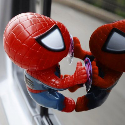 12cm Spider Doll Window Sucker Climbing Spiderman Toy Car Home OrnamentsOther Car Gadgets<br>12cm Spider Doll Window Sucker Climbing Spiderman Toy Car Home Ornaments<br><br>Color: Black,Red<br>Material: ABS<br>Package Contents: 1 x Spiderman Toy<br>Package size (L x W x H): 13.00 x 12.00 x 6.00 cm / 5.12 x 4.72 x 2.36 inches<br>Package weight: 0.0880 kg<br>Product weight: 0.0300 kg<br>Type: Other Decorations