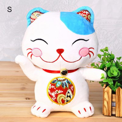 Cute New products gadgets Arrival3D Lucky Cat Model Stuffed Toy Best Cat Doll Present