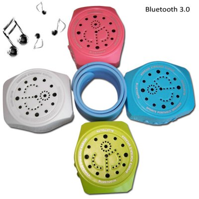 EPT Novel Watch Style Wireless Bluetooth 3.0 Speaker Built - in Microphone for iPhone 6 6 Plus 5S 5C 5 4S 4