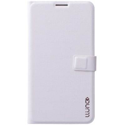 Practical PC and PU Material Cover Case with Stand and Magnetic Button