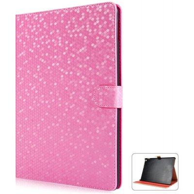 Fashionable Hexagon Pattern PU and PC Material Cover Case