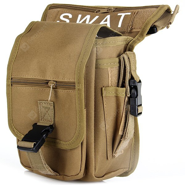 Utility Multi - Layered Leg and Waist Pouch Carrier Bag for Hunting Riding Hiking thumbnail