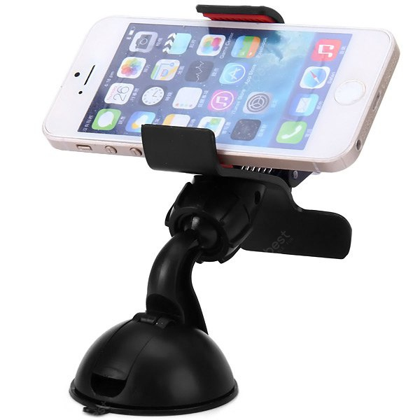 360 Degrees Rotation Universal Car Suction Mount Cell Phone - GPS Holder
