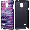 Fashionable PC Material Minority Pattern Back Cover Case for Samsung Galaxy Note 4 N9100