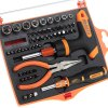 JAKEMY JM - 6115 60 - in - 1 Screwdriver Set (T Pattern + Save Labour + Profession Design)