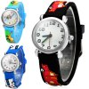 cheap Christmas Gift Children Quartz Watch Car Rubber Watch Band