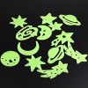 cheap 12PCS Home Wall Stickers Dreamy Noctilucent Sticks Glow in The Dark