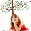 best DIY Home Decoration Repositionable Big Tree Pattern Wall Sticker Mural Beautiful Home Wall Ornaments