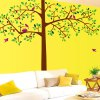 DIY Home Decoration Repositionable Big Tree Pattern Wall Sticker Mural Beautiful Home Wall Ornaments deal