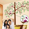 cheap DIY Home Decoration Repositionable Big Tree Pattern Wall Sticker Mural Beautiful Home Wall Ornaments