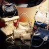 Graceful Metallic and Embossing Design Women's Shoulder Bag deal