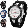 Curren 8163 Men Quartz Watch with Round Dial Rubber Band