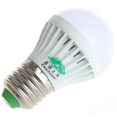 Zweihnder 3W E27 280Lm SMD 2835 8 - LEDs Lamp Ultra Bright 5500 - 6000K Globe Bulb