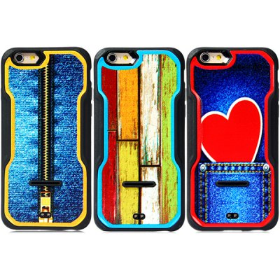 Фотография Fashionable Heart Pattern PC and TPU Back Case Cover for iPhone 6  -  4.7 inches