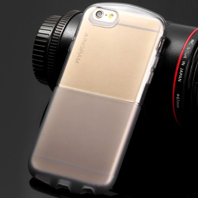 ФОТО Ultrathin Transparent TPU Material Back Cover Case for iPhone 6  -  4.7 inches