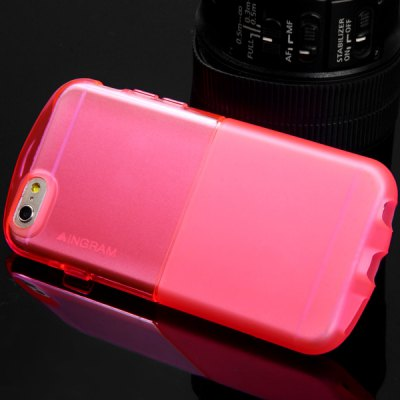 Фотография Ultrathin Transparent TPU Material Back Cover Case for iPhone 6  -  4.7 inches