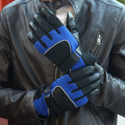 Thickened Full - finger Gloves Winter Outdoor Riding Cycling Skiing Supplies