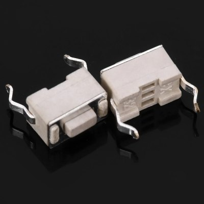 Фотография Practical Nylon PP6 Electronic DC 12V 50mA Tact Switches for DIY Project  -  100PCS