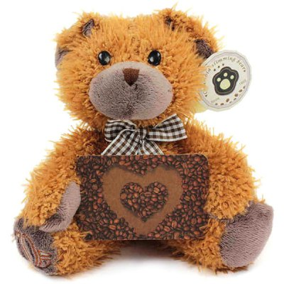 Columbia Coffee Bear Plush Toy