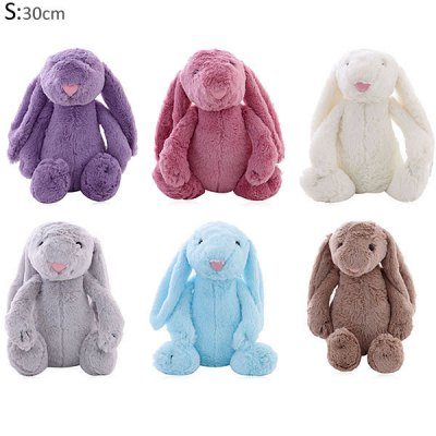 1Pc 30cm Bonnie Bunny Plush Stuffed Rabbit Toy with Long Ears