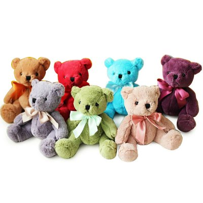 Гаджет   20cm Adorable Bear Plush Animal Toy with Hanging Suction Cup Pendant Doll Dolls & Action Figures